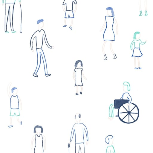 A plethora of different users. Illustration Credit: Juani Serrovalle