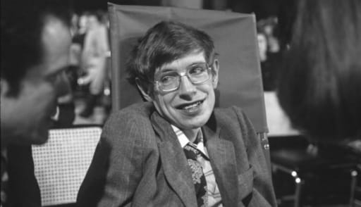 Stephen Hawking had ALS. Photo Credit: Net Joven