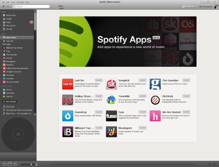 Collaborative listening on Spotify using Connect endpoints - José M