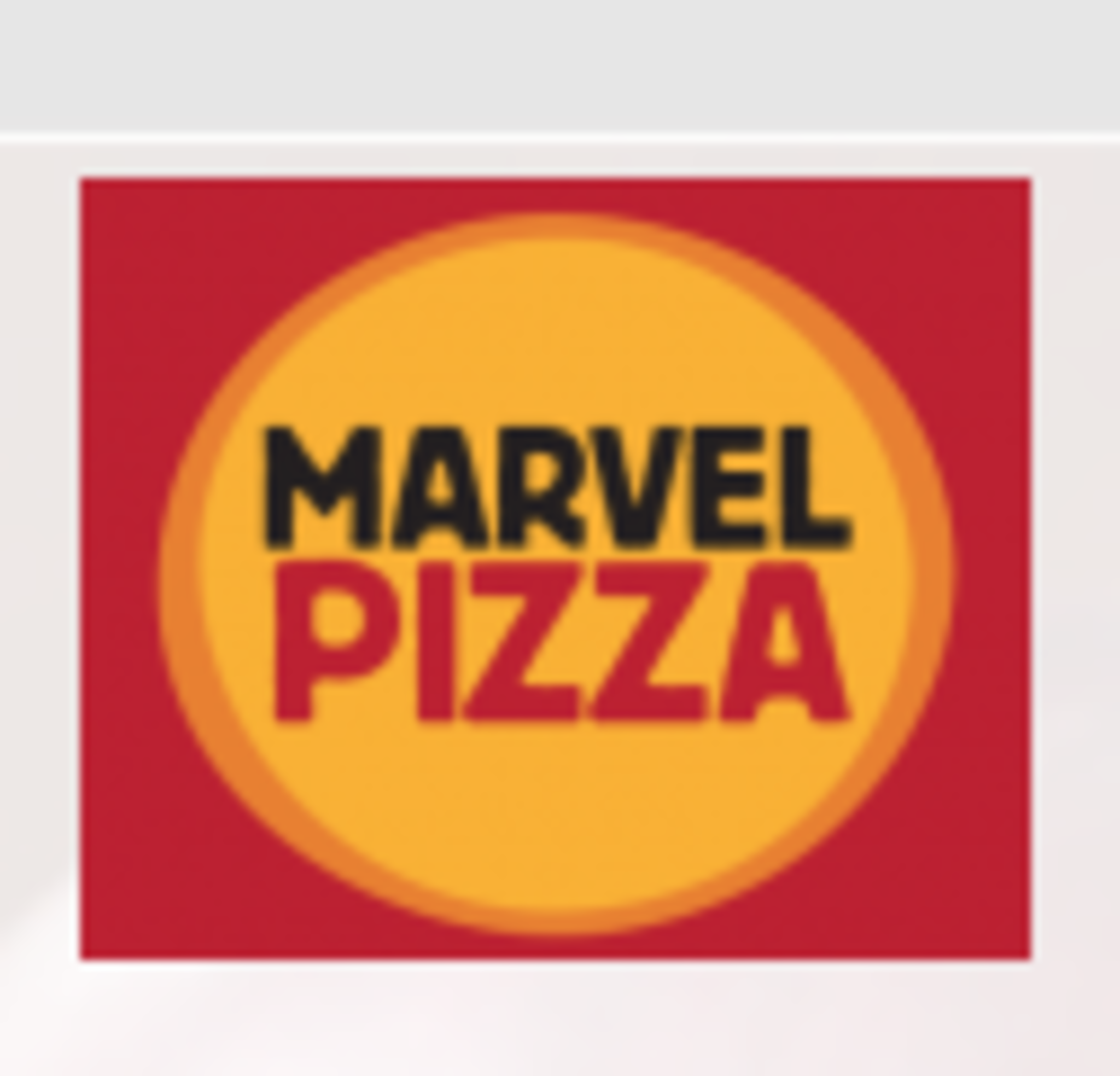 Marvel Pizza