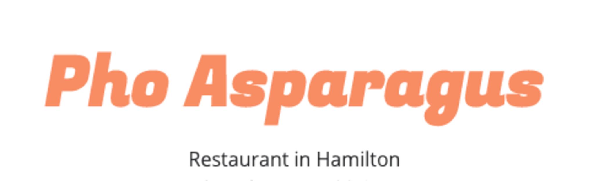 Pho Asparagus