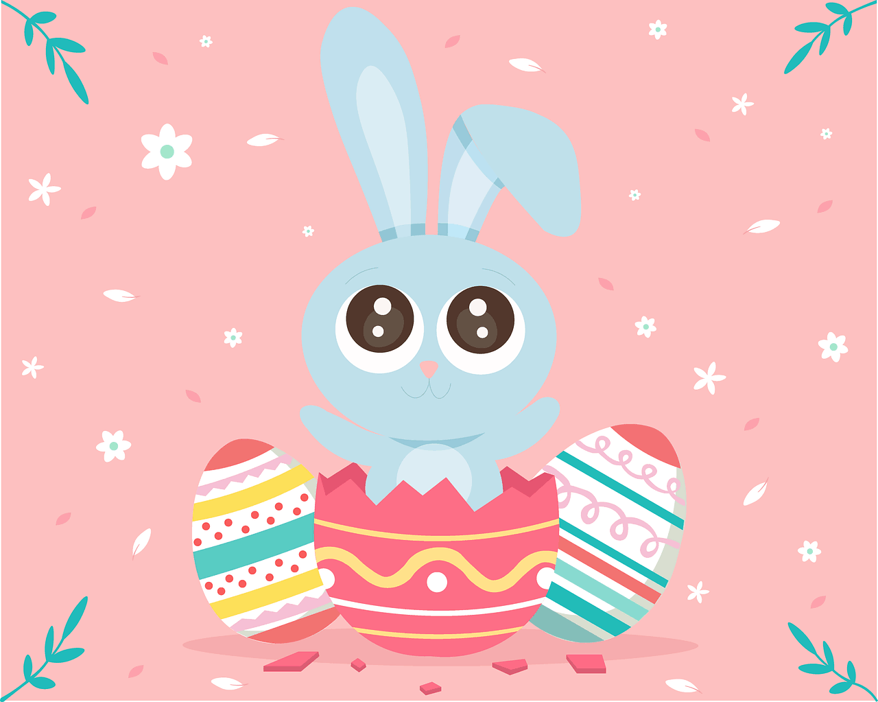 Easter Rabbit Egg Cute Spring