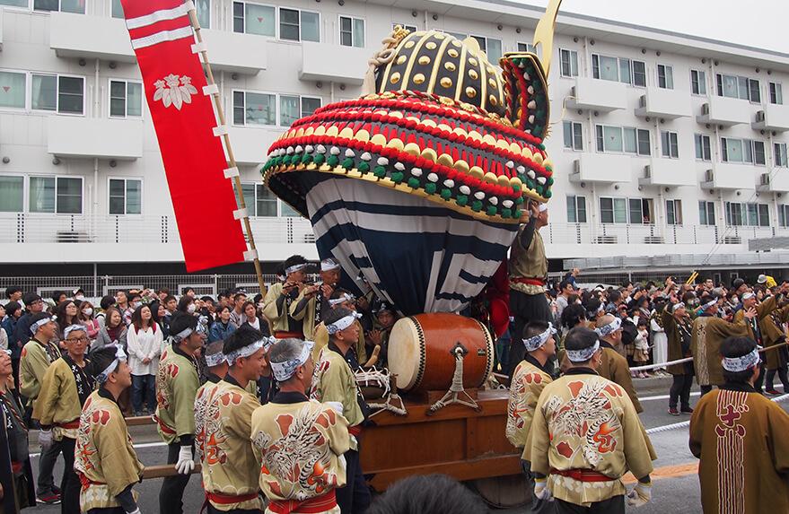 lễ hội Karatsu Kunchi ở tỉnh Saga