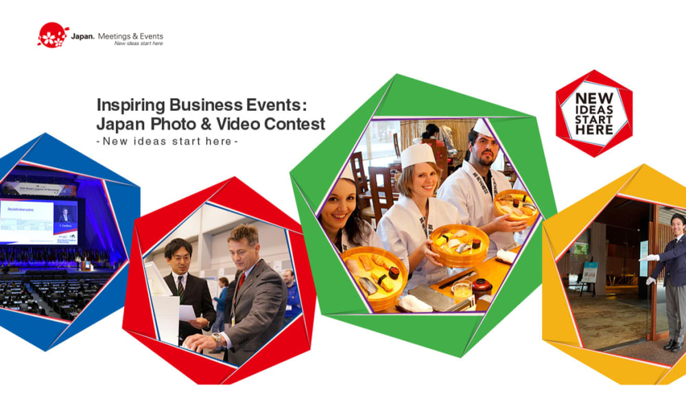 Inspiring Business Events: Japan Photo & Video Contest-New