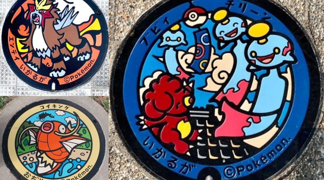 Pokemania On The Streets Japan S Manhole Fever Travel Japan Jnto