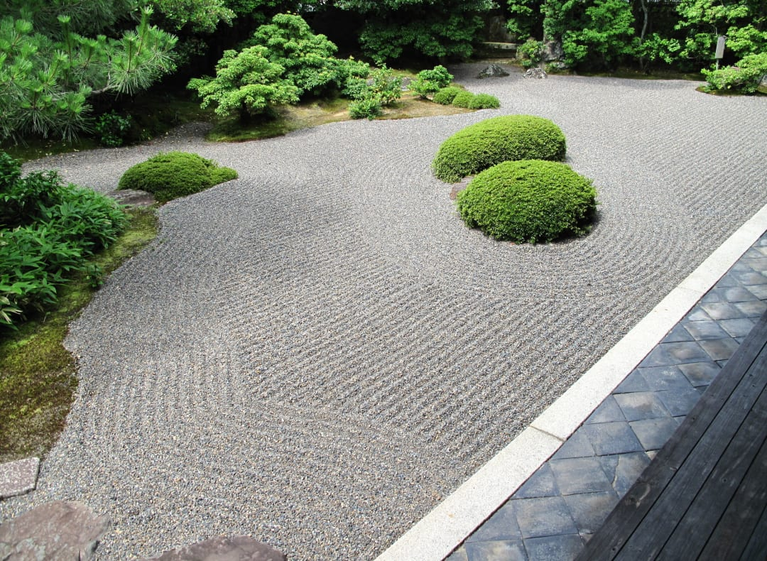 Zen garden of Shunkoin Temple