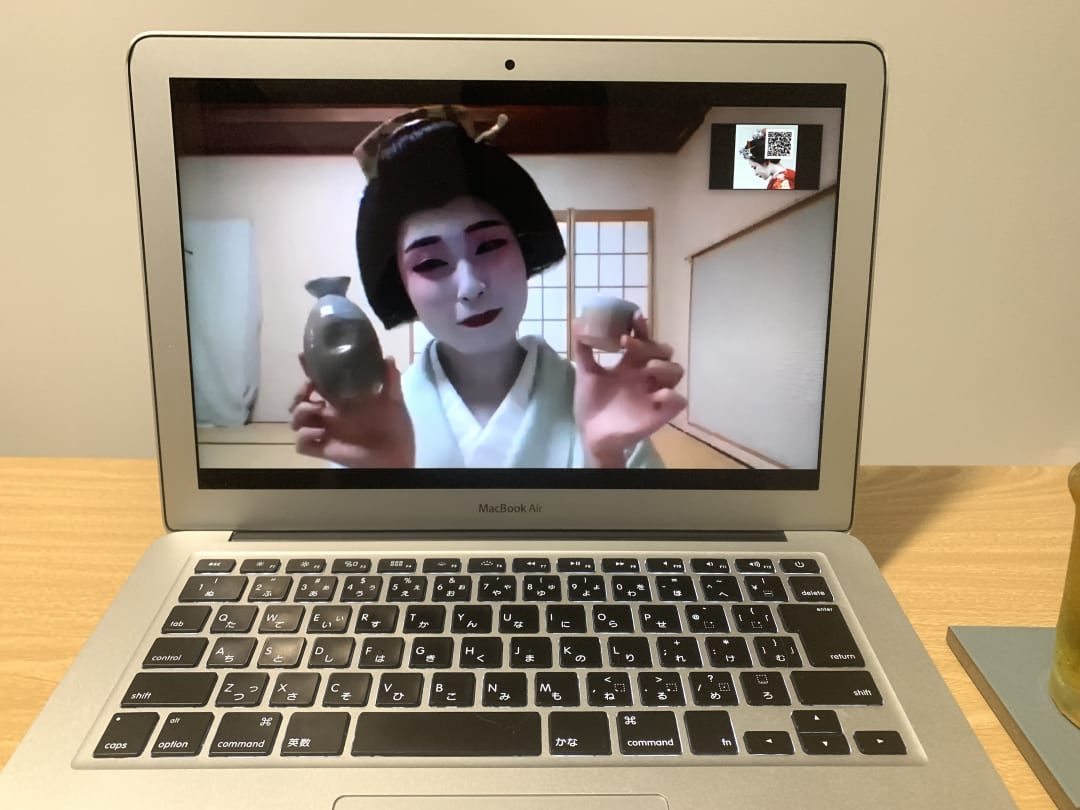 While you'll need to bring your own beverages, drinking with geishas online can be a lot of fun.