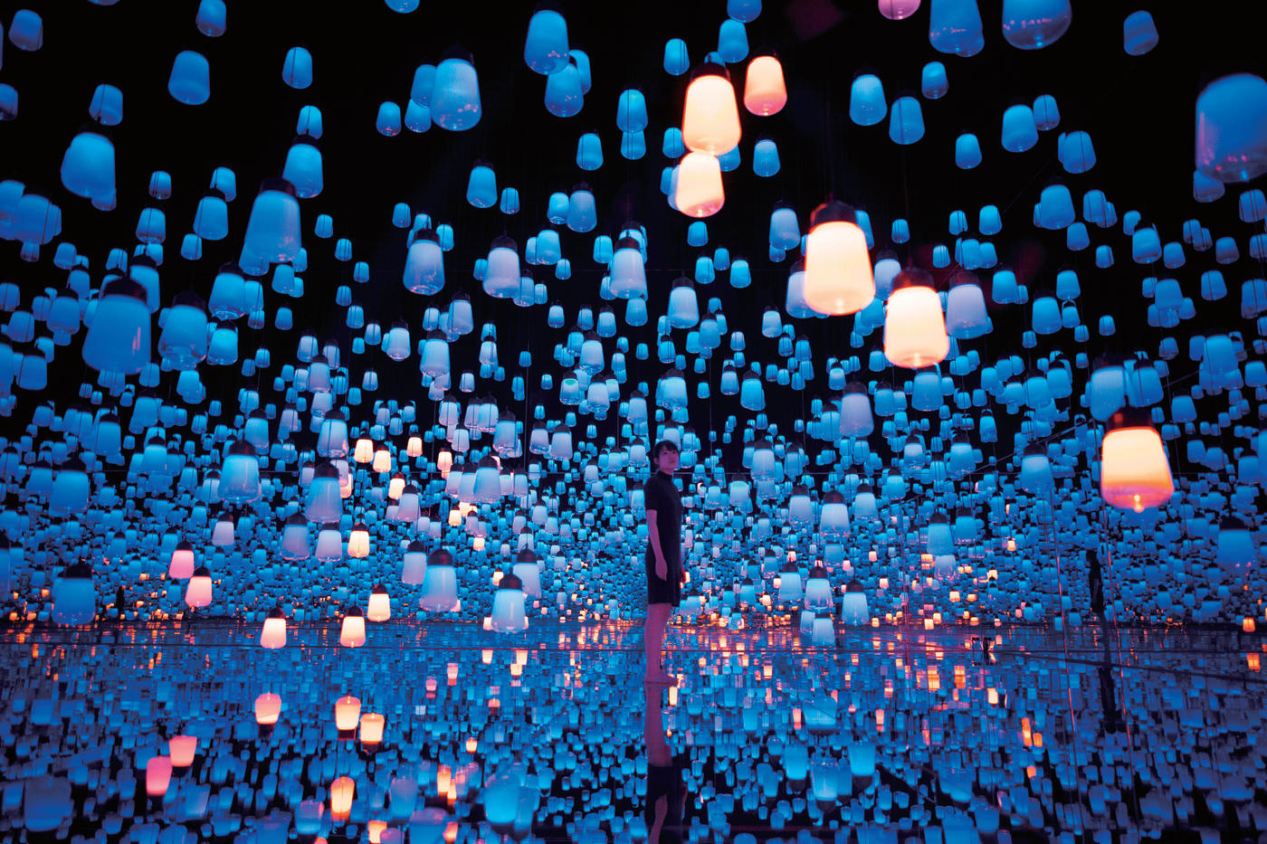 Immerse Your Body And Mind In A High Tech Museum Without Borders Experiences In Japan