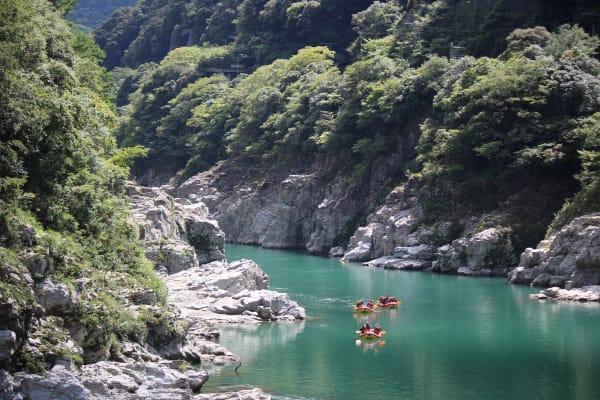在清爽的大自然中感受日本不一樣的夏天