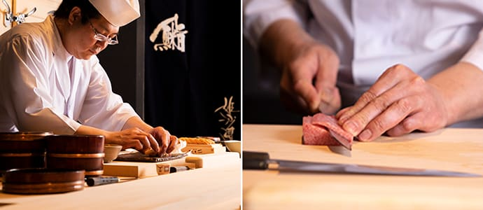 Akira Tanaka has devoted himself to mastering sushi and Japanese cuisine for 37 years.