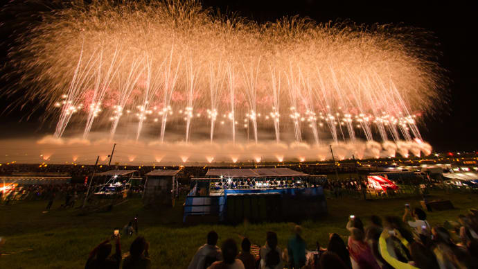The grand finale of the National Fireworks Competition is a huge undertaking that takes a year to prepare