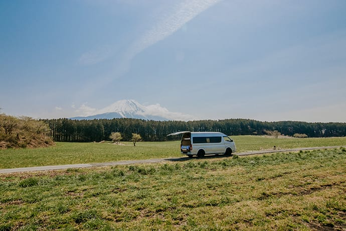 Vanlife means you can explore on your own schedule and relax when you need to.