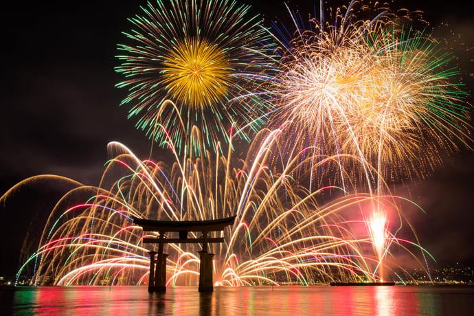 Miyajima Water Fireworks