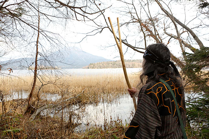 Ainu people have hunted and gathered in the Akan area since ancient times.