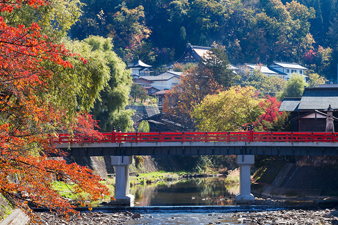 Hida-Takayama in the autumn.