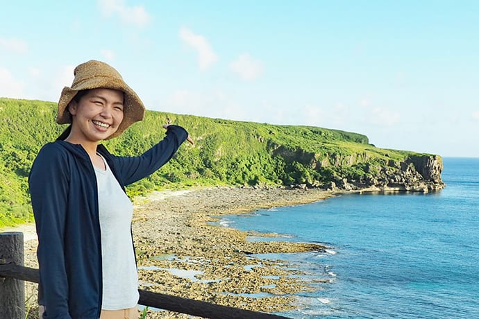 Professional guide Yukiyo Fukumoto