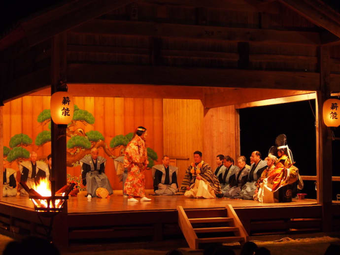 Noh stage
