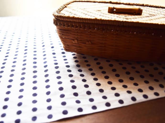 as a place mat