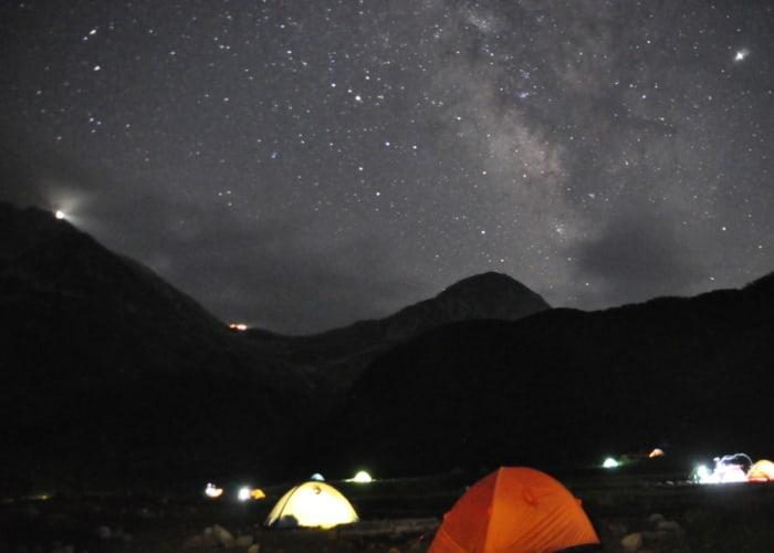 Raichosawa Starry Sky Overnight Tour