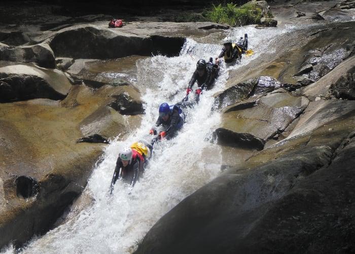 Canyoning in Nametoko Valley