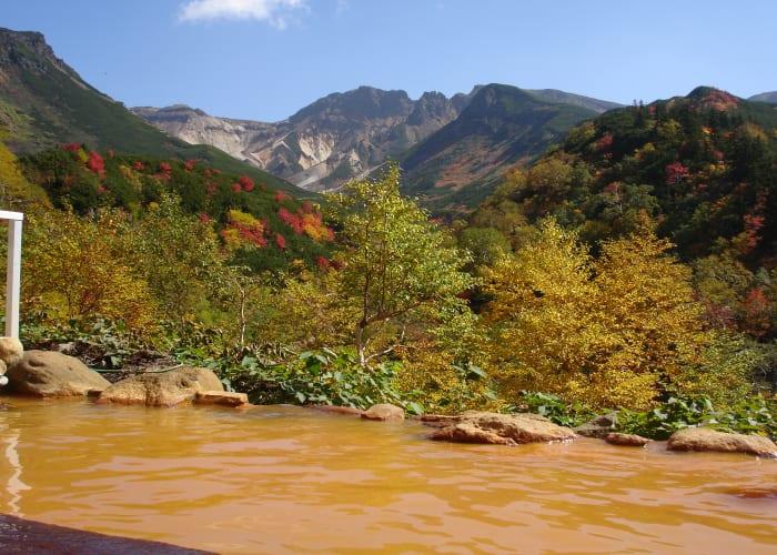 Hiking and Onsen Bathing at Mount Tokachidake