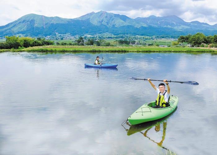 Kayak Touring Through Minami-Aso