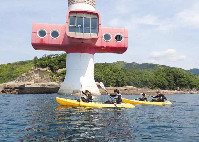 Sea Kayaking and Snorkeling in Tatsukushi Bay