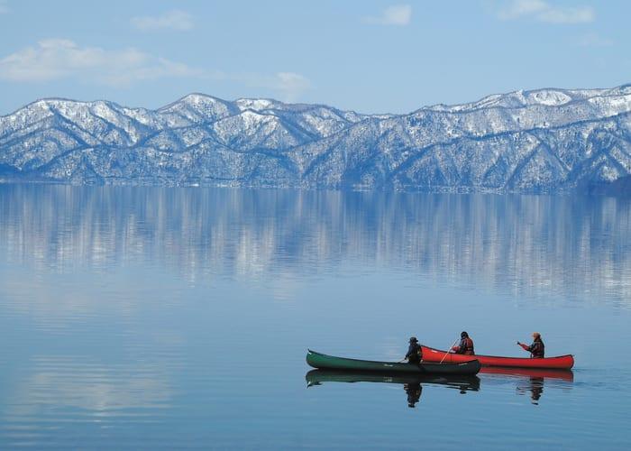 Explore Lake Shikotsu by Canoe