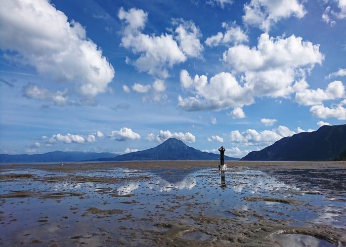 A Nature Safari Through a Rare Caldera Sea