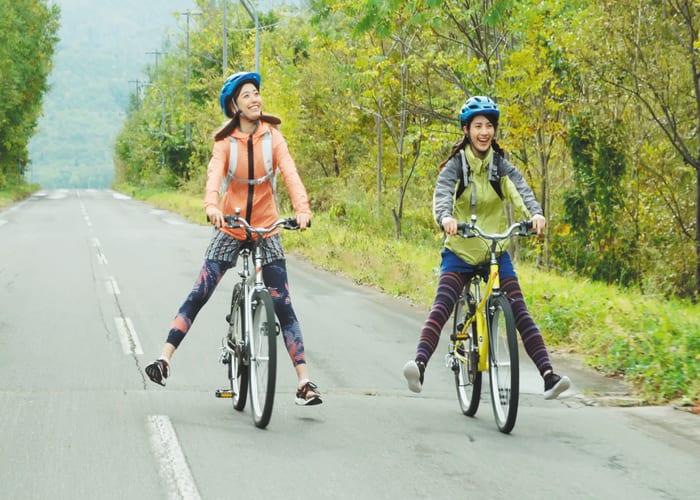 Downhill Cycling from Lake Mashu Observatory