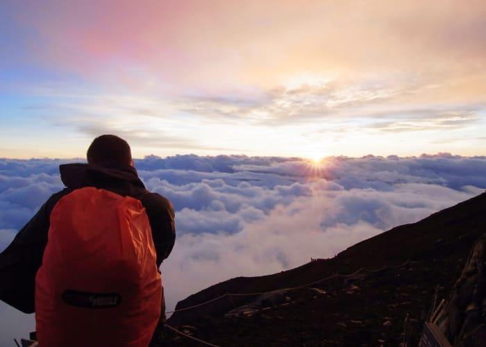 Hike to the Summit of Mount Fuji