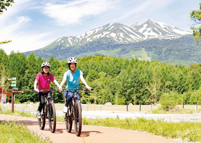 Mountain Bike through Norikura Kogen
