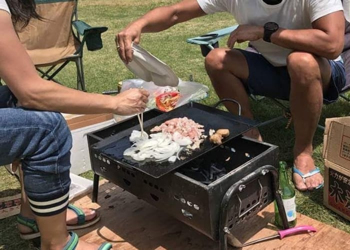 Outdoor Fun and Barbecuing on the Kurio River