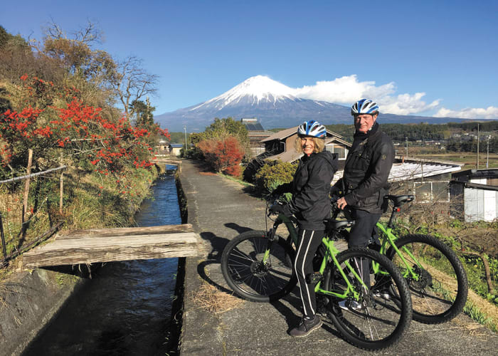 Cycle Through the Foothills of Mount Fuji