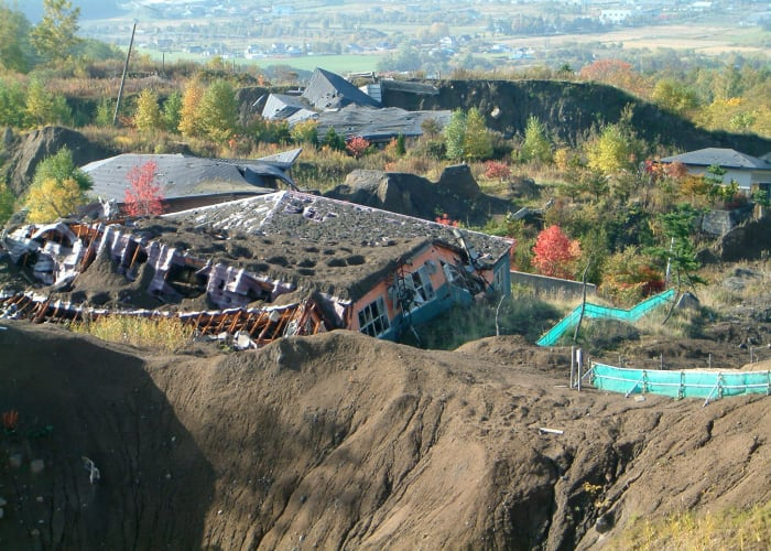 Tour of the 2000 Eruption of Mount Usuzan