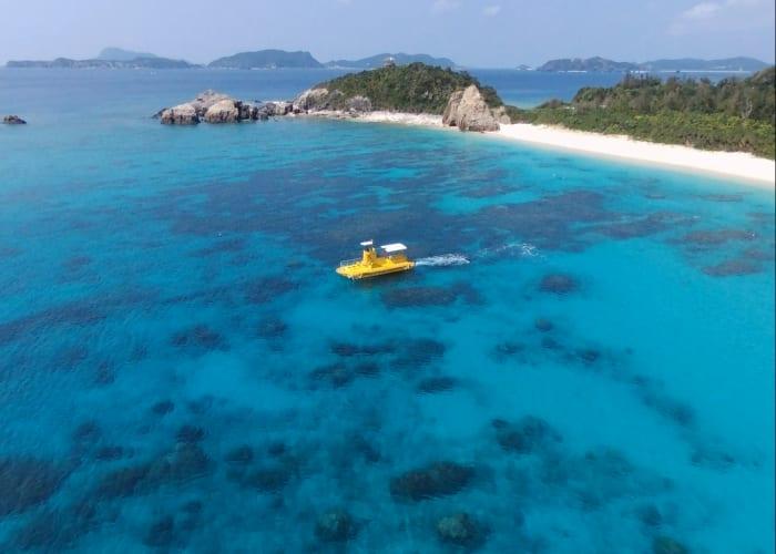 Explore Coral Reefs in the Yellow Submarine