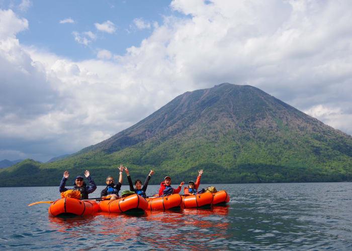 Lake Chuzenji South Shore Trekking and Packrafting Tour