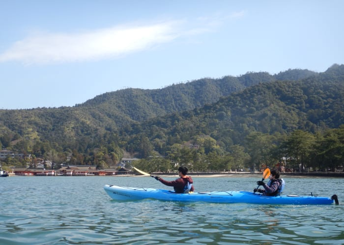 Miyajima Island Sea Kayaking