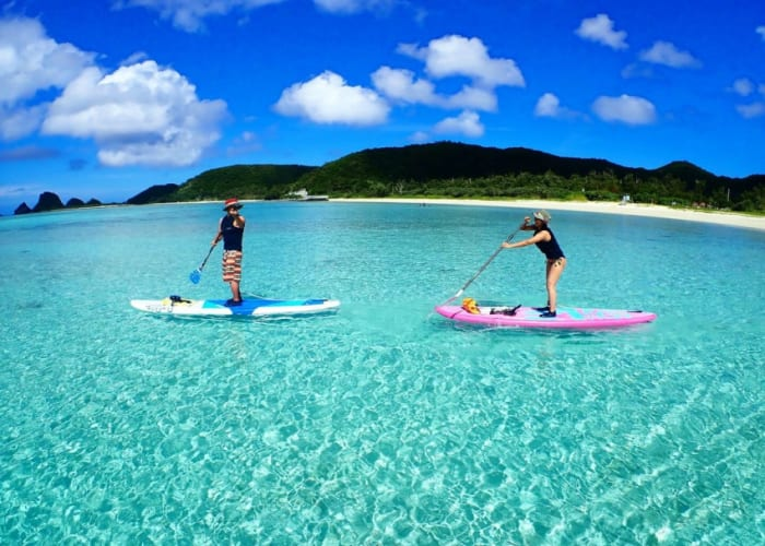 Stand-Up Paddleboarding and Snorkeling on the GoodDay Course