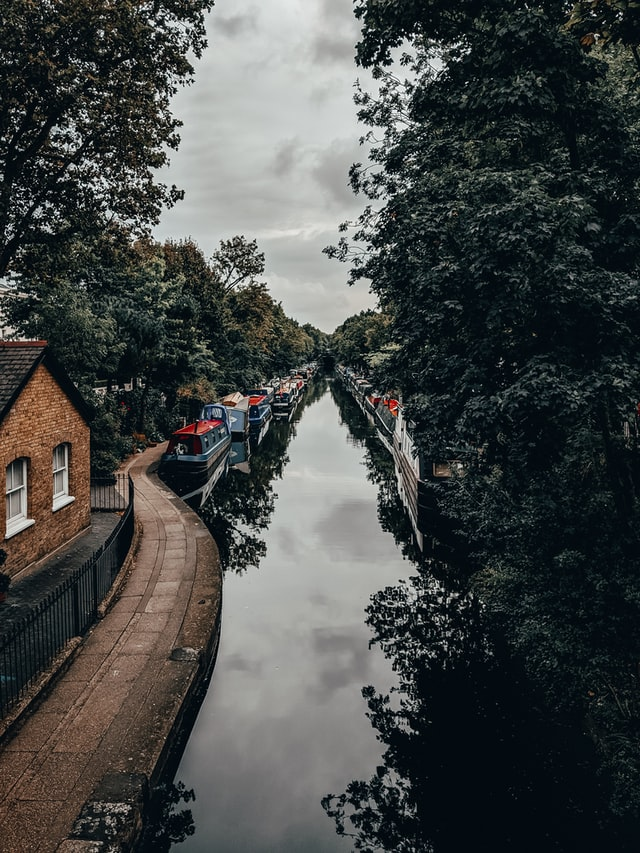 Regent's Canal in Little Venice