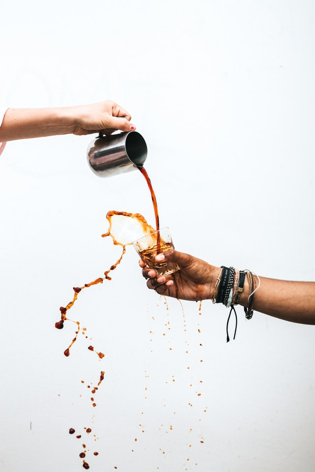 coffee mess