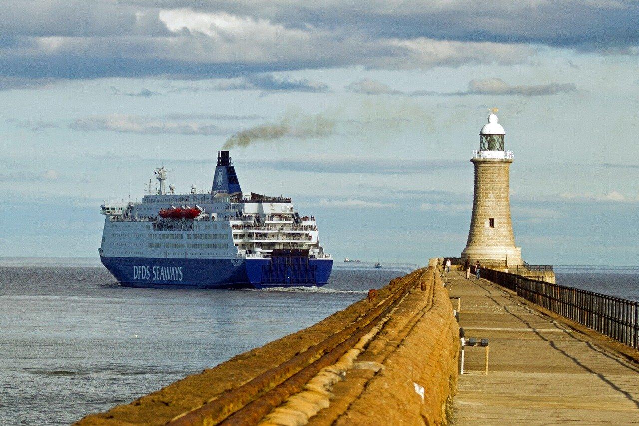 Ferry pequeño