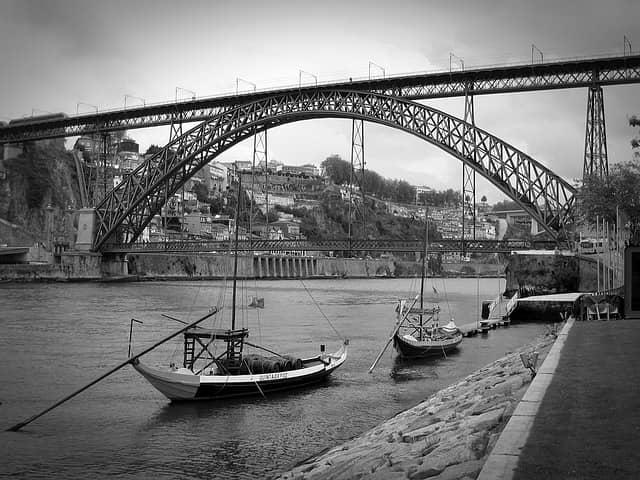 Ponte de Dom Luis from Vila Nova de Gaia