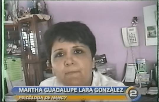 Psicologa Martha Guadalupe Lara Gonzalez