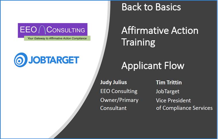 Webinar: Affirmative Action Training
