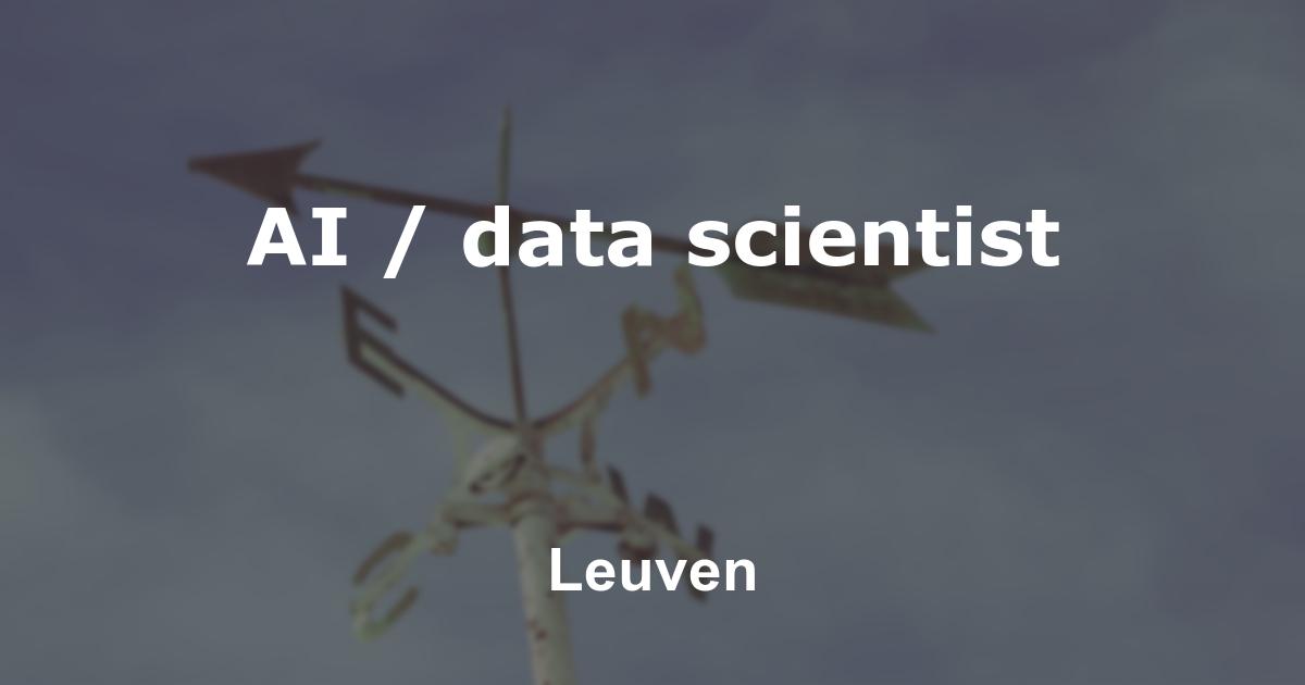 AI / data scientist