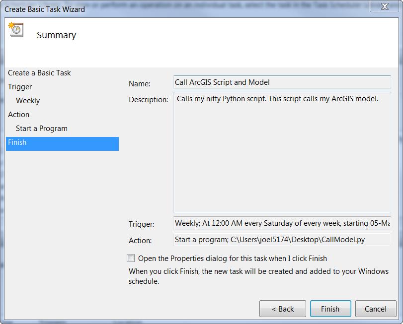 Run ArcGIS Models as Scheduled Tasks