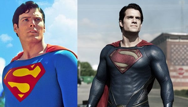 Superman then and now