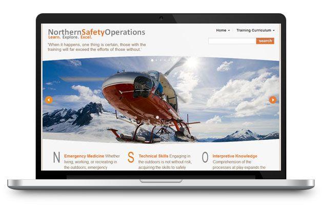northern safety operations website design development