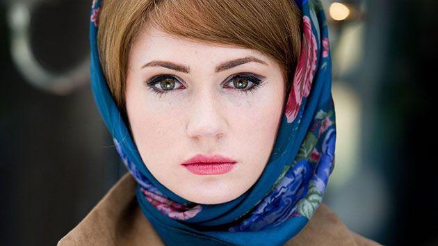 Karen Gillan blue